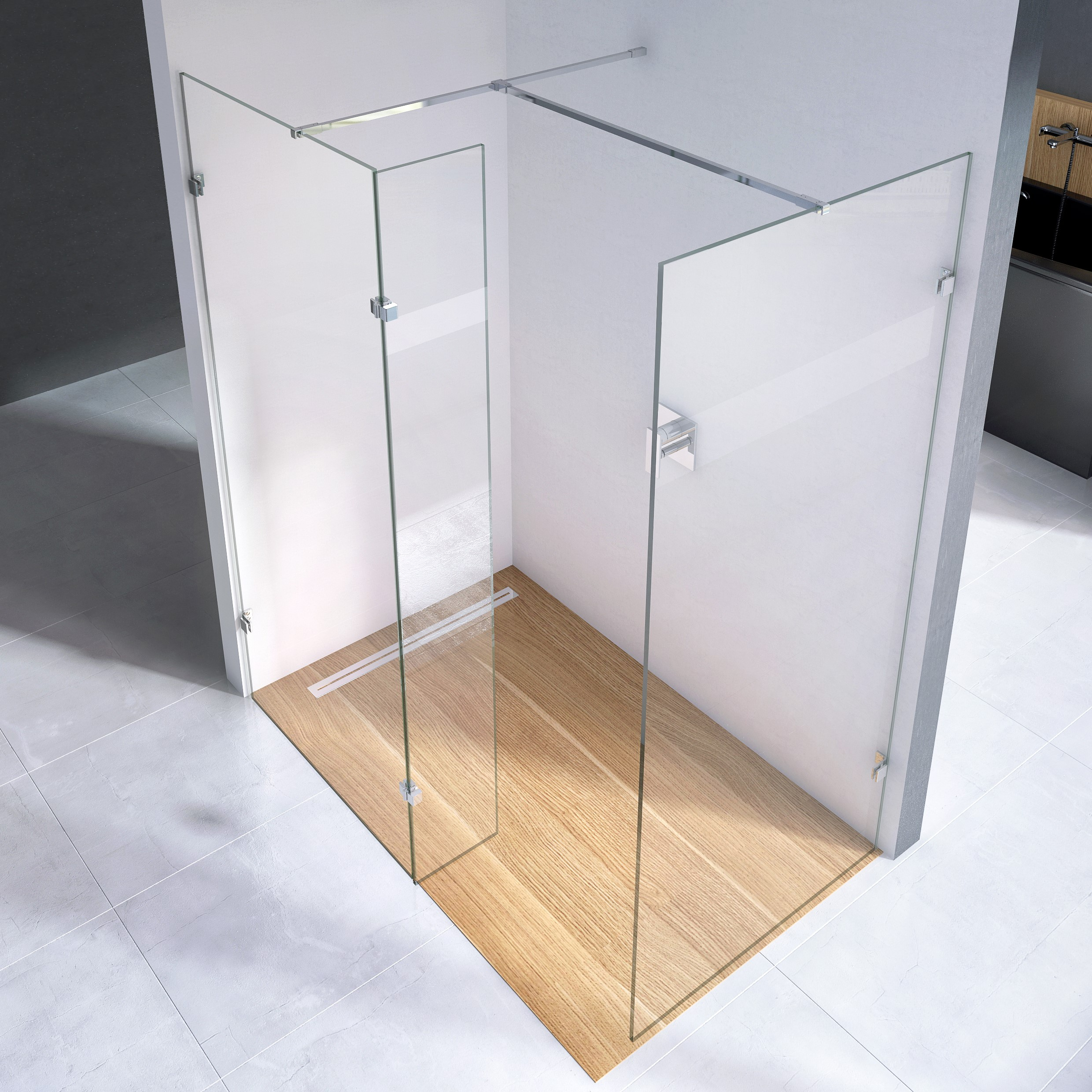 Scudo S10 - wetroom Glass