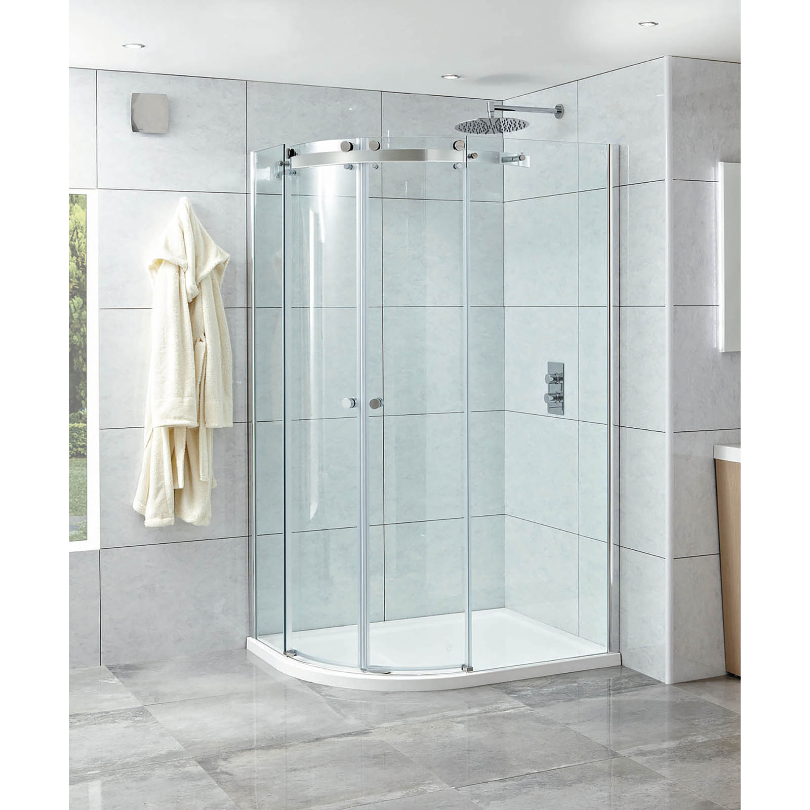 Shower Enclosures , Doors & Side Panels