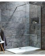 Scudo  S8 Wetroom Glass 8mm thick - 2000mm High System