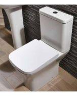 Scudo Porto Closed Couple WC - inc soft close seat