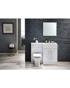 Scudo  Lili 1100  Gloss White Furniture Set