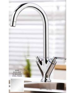 Scudo Olicana Kitchen Tap (Available Chrome and Brushed Stainless)