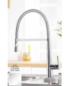 Scudo Flusso Kitchen Tap (Available Chrome and Brushed Stainless)