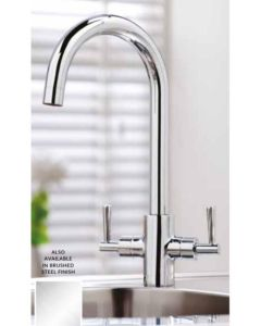 Scudo Kingston Kitchen Tap (Available Chrome and Brushed Stainless)