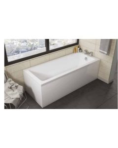 Scudo Square Single Ended Bath