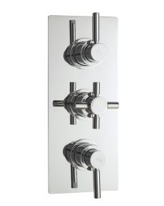 Triple Thermostatic Shower Valve With Diverter