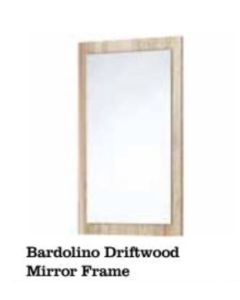 Scudo Mirror With Bardolino Driftwood Frame