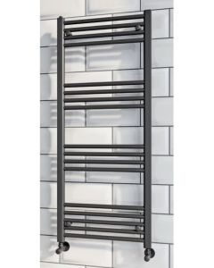 Scudo Black Ladder Rail 800mm High