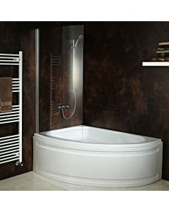 AQUA-line  Duo Shower Bath inc Panel & Shower Screen