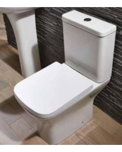 Scudo Porto Closed Couple WC - inc soft close seat