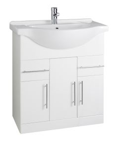Kartell Encore 750mm cabinet with Basin