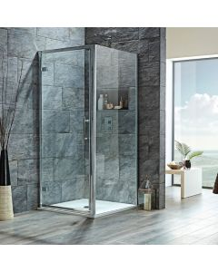 Scudo Luxury S8 Hinged Door & Shower Enclosure Systems - 8mm Glass
