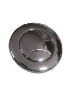 Scudo Round Polished Chrome Concealed Cistern Push