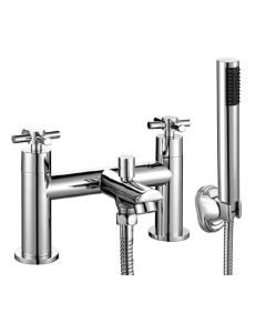 Scudo Kross Bath Shower Mixer with shower kit and wall bracket