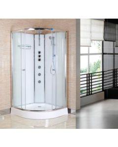 Opus Shower Cabin - Polar White (select size)