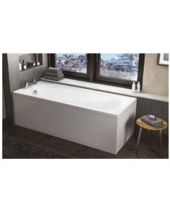 Scudo Round  Single Ended Bath