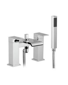Scudo Miami Bath Shower Mixer with shower kit and wall bracket
