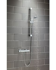 Scudo Round Thermostatic Exposed Shower Set One