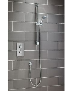 Scudo Round Thermostatic  Concealed Shower Set Two