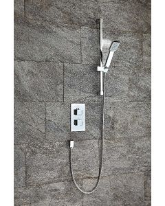 Scudo Square Thermostatic Concealed Shower Set One