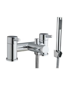 Scudo Premier Bath Shower Mixer with shower kit and wall bracket