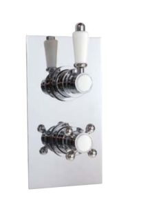 AQUA-line Traditional Twin Valve - Dual Function Thermostatic Valve