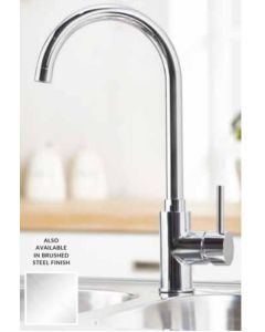 Scudo Palma Kitchen Tap (Available Chrome and Brushed Stainless)