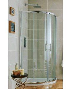 Scudo S6 Double Door Quadrant Shower Enclosures- 6mm Glass