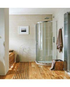 Scudo S6 Single Door Quadrant Shower Enclosures- 6mm Glass