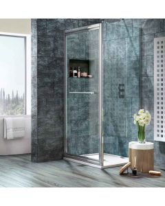 Scudo Luxury S8 Infold Door & Shower Enclosure Systems - 8mm Glass