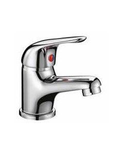 Scudo Tidy Mono Basin Mixer With Push Waste (40mm CARTRIDGE)