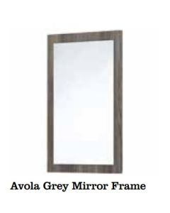 Scudo Mirror With Avola Grey Frame (select Size)