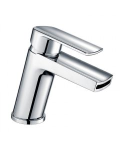 Scudo Leo Mono Basin Mixer with push waste