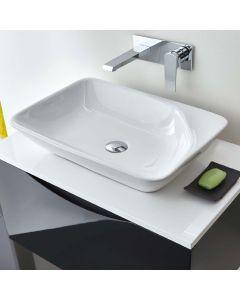 AQUA-line Rectangular Ceramic Counter Top Basin