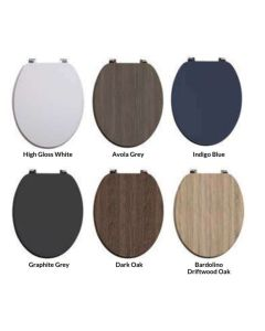 Scudo Wooden Soft Close WC Seat (6 Finishes)