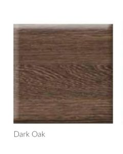 Scudo Bath Panels - Dark Oak (1700mm & 1800mm & end panels) vinyl wrapped