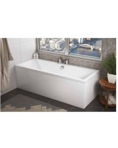 Scudo Square Double Ended Bath